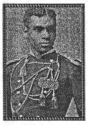 Henry O. Flipper, first African American to graduate from the United States Military Academy at West Point in 1877