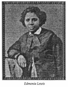 Edmonia Lewis, Sculptor, 1845-1890 (1907)*