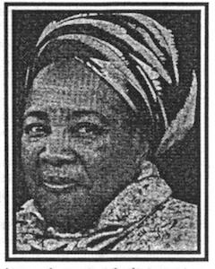 Remembering – Sister Alma John