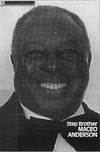 Maceo Anderson, Tap Dancer & Founding Member of the Four Step Brothers