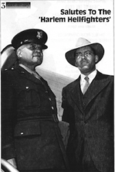 Brig. General Benjamin 0. Davis, Sr. &The Hon. Truman Gibson, Ass't to the Secretary of War For Negro Affairs (1944)