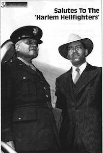 Brig. General Benjamin 0. Davis, Sr. &TheHon. Truman Gibson, Ass't to the Secretary of War For Negro Affairs (1944)