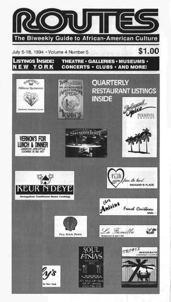 Quarterly Restaurant Listings