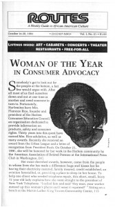 woman of the year oct 14-20, 1991 p1