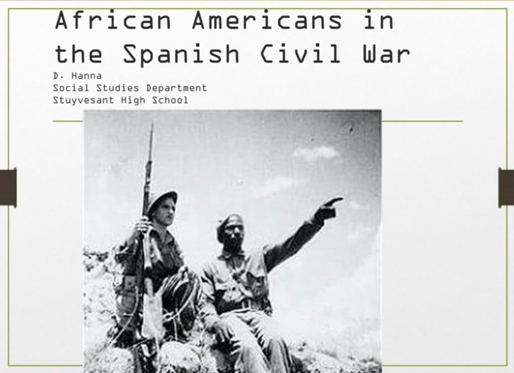 African American in the Spanish Civil War