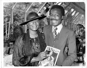 Patti LaBelle & Ron Bunn at Tavern on the Green July 1978