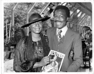 Patti LaBelle & Ronn Bunn at Tavern on the Green  July 1978
