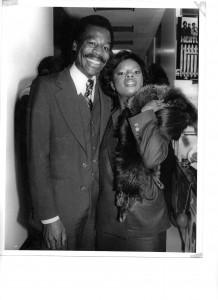 Ron Bunn & Sarah Dash at Sarah's CD Release Party - 1978