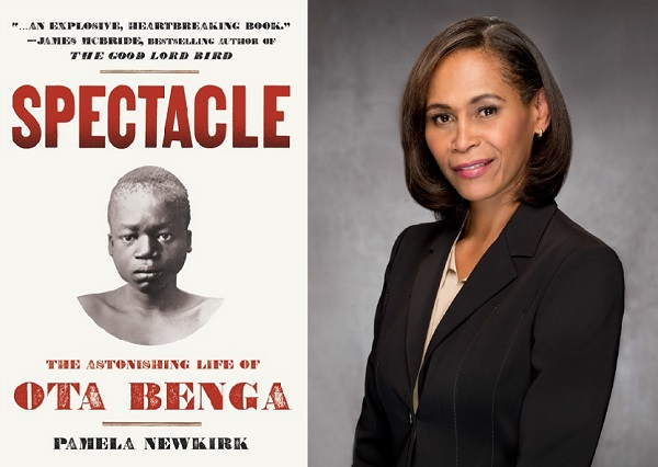 "Book Talk: Pamela Newkirk, ""Spectacle: The Astonishing Life of Ota Benga"""