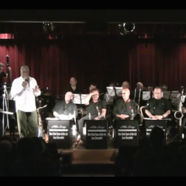 "Mike Longo's swingin' 17-piece Big Band, the""NY State of the Art Jazz Ensemble"""