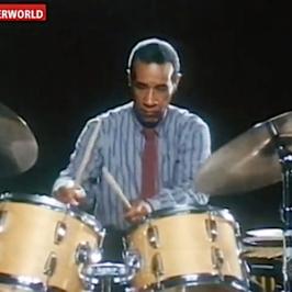 "Drummers ""Babatunde Olatunji"" (African) & Max Roach (Jazz)"