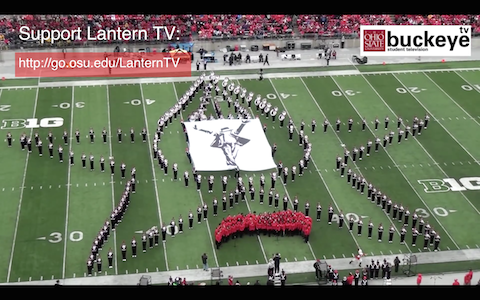 "Ohio State Marching Band ""Michael Jackson Tribute"""
