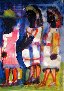 "Romare Bearden, ""Sunday Morning"""