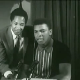 "Sam Cooke & Muhammad Ali Sing ""The Gang"" Song"