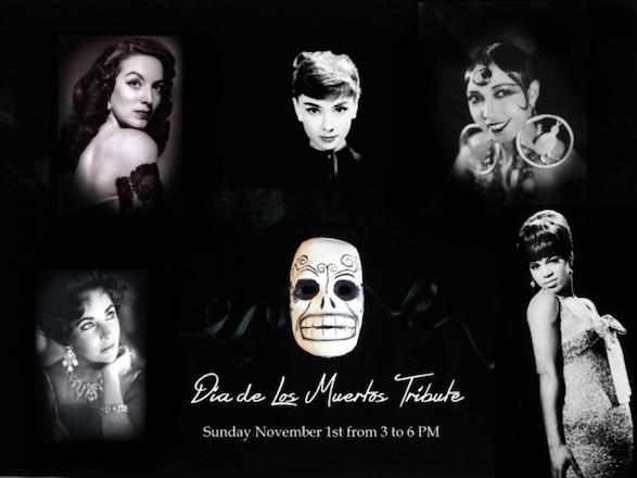 Josephine Baker, Audrey Hepburn, Elizabeth Taylor, Maria Felix