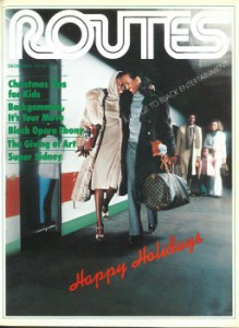 Routes Magazine Cover Photo — December 1977
