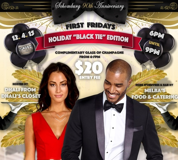 """First Fridays: Holiday """"Black Tie"""" Edition"""