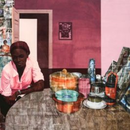 Njideka Akunyili Crosby: Before Now After (Mama, Mummy and Mamma)