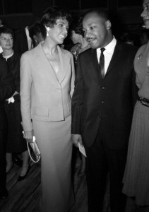 Lena Horne and Martin Luther King, Jr.