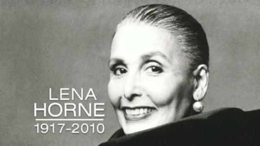 Lena Horne, Singer, Entertainer