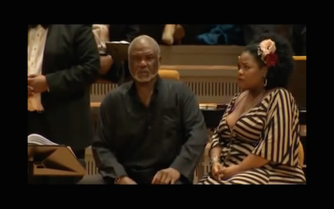 "Berlin Philharmonie's ""Porgy and Bess"" Concert"