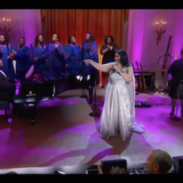 Aretha Franklin's Performance At The White House 2015