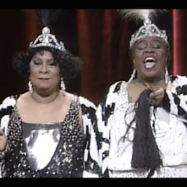 "Broadway Production ""Black and Blue"" – Linda Hopkins & Ruth Brown"