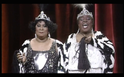 Ruth Brown (L) & Linda Hopkins - Blues Singers