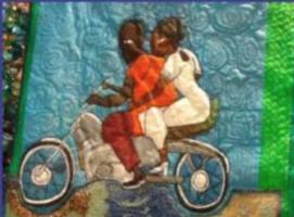 Guyana-quilt maker Dindga McCannon