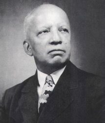 G. Carter Woodson Image Courtesy of Ancella Bickley Collection, West Virginia State Archives