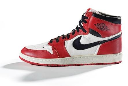 Nike. Air Jordan I, 1985.
