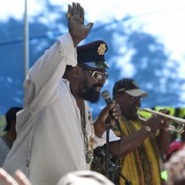 BAM R&B Lunchtime Festival at MetroTech – George Clinton & Parliament Funkadelic