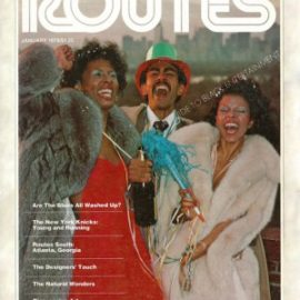 Routes Magazine Cover Photo — January 1978