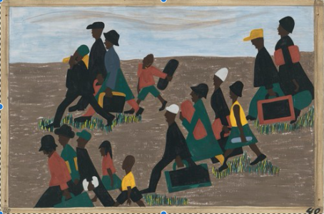 Jacob Lawrence's Migration Series and the Legacy of Jim Crow: The Long History of the Artist's Concerns