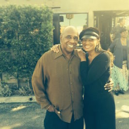 Out and About – Kenneth Reynolds and Susan Taylor, former Editor-in-Chief of Essence Magazine