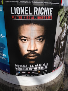 "Lionel ""All His Hits All Night Long"" Ritchie comes to Munich, Germany"