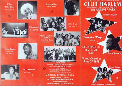 """On Kentucky Avenue"": A Celebration of Atlantic City's Famed Club Harlem"