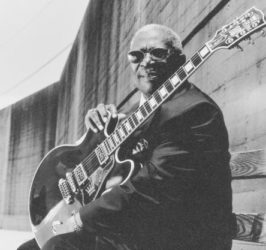 B.B. King, Blues Singer, Electric Guitarist, Songwriter & Record Producer