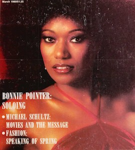 Bonnie Pointer, Singer