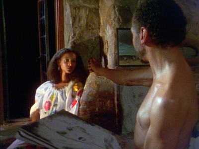 Seret Scott (as Sara) and Bill Gunn (Victor) in Kathleen Collins' 1982 African-American classic, LOSING GROUND, starring Seret Scott, Bill Gunn and Duane Jones. Restored by Milestone Films and Nina Lorez Collins.