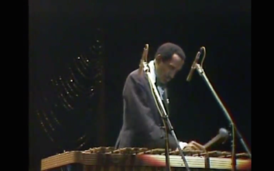 Milt Jackson, Jazz Vibraphonist, A Member of the Modern Jazz Quartet
