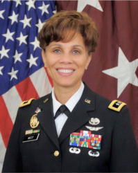 Nadja Y. West, a United States Army Lieutenant General and the 44th U.S. Army Surgeon General and Commanding General of the U.S. Army Medical Command.