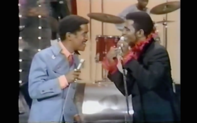 Sammy Davis Jr. and James Brown, Entertainers