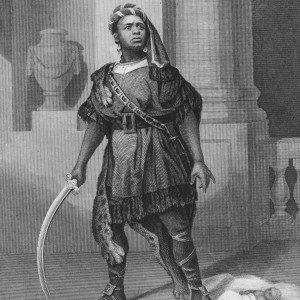 African Grove Theatre (1821-1823) : Ira Aldridge as Titus Adronicus