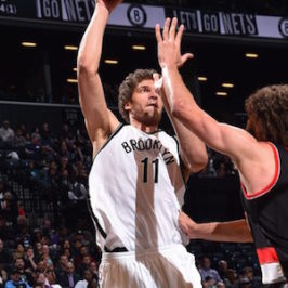 Brooklyn Nets Defeat Visiting Portland Trailblazers