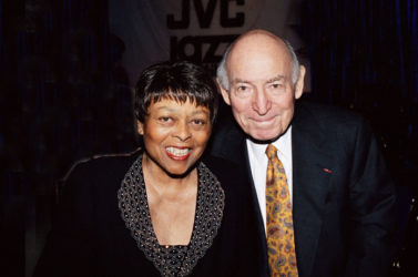 Joyce & George Wein, Jazz Festival promoters and producers