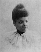 Ida B. Wells,  Journalist, Newspaper Editor, Suffragist, Sociologist, Georgist.