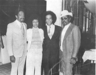 Bobby Seale, Elaine Brown, Huey P. Newton, John Seale