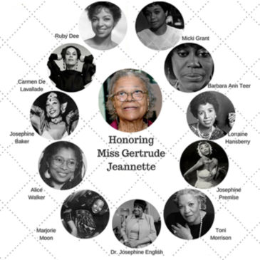 Songbirds 2: Women in African-American Theatre – An Educational Concert Honoring Miss Gertrude Jeanette