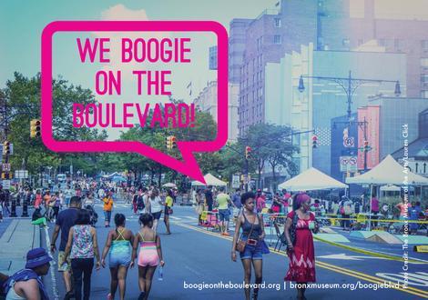 Boogie Postcard